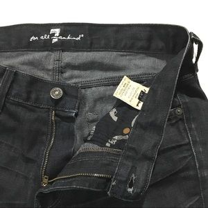 7 for All Mankind Straight Leg Pistol Jeans